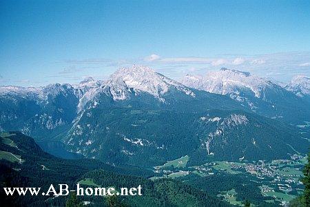 Mountains at Bavarian