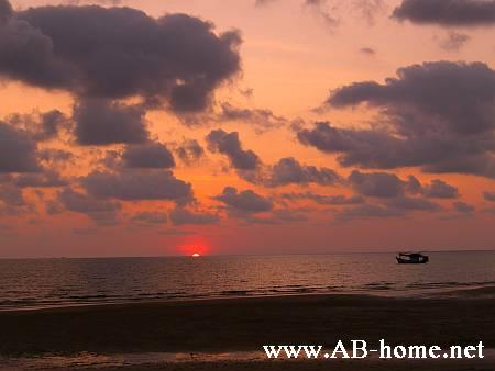Sunset from Klong Prao Beach