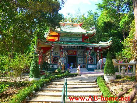 Chinese style temple at Klong Son