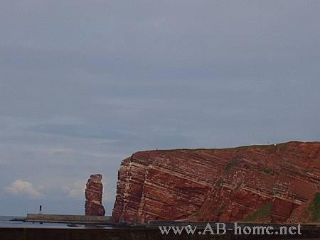 "The landmark of Helgoland, ""Lange Anna"""