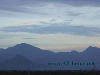 Hills at Nakhon Si Thammarat