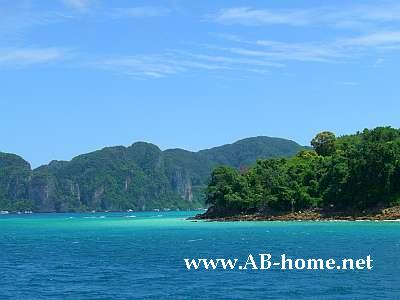 Landscapes of Koh Phi Phi Don
