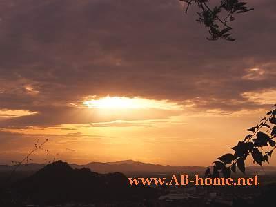 Sunset at Phetburi