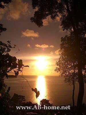 Sunset at Kai Bae Beach