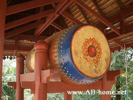 Temple Drum of wat Phnom