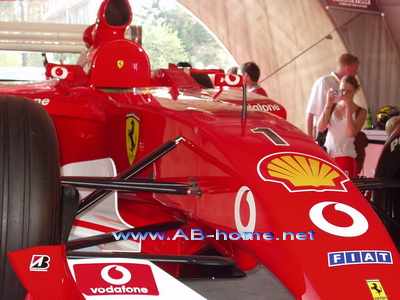 The Racing Car of Michael Schumacher @ Hockenheim