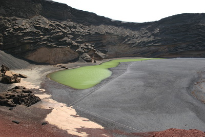 Green Lagoon at El Golfo