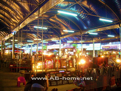 The Night Bazaar in Chiang Mai