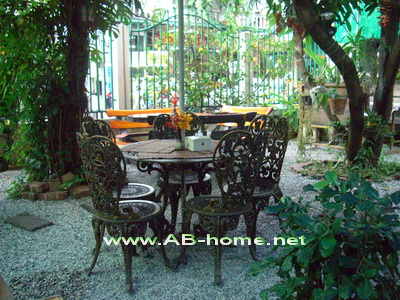 The Beer Garden from the Guest House