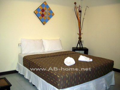 A room example @ DaLha in Lamphun