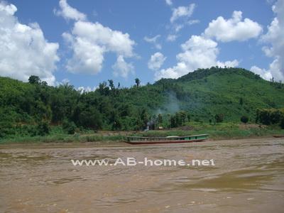 A boat in Laos.