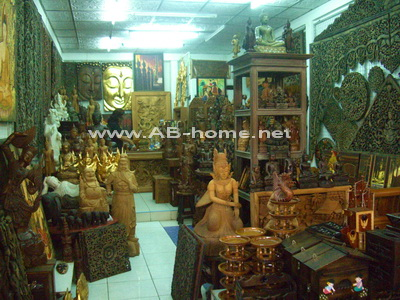 A handicraft shop @ Ban Tawai