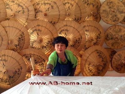 Bor Sang village near Chiang Mai