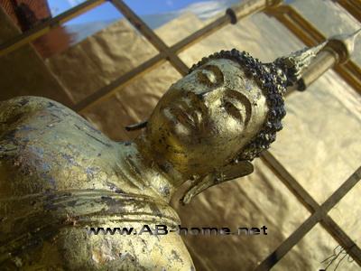 A Buddha @ Phra That Cho Hae temple