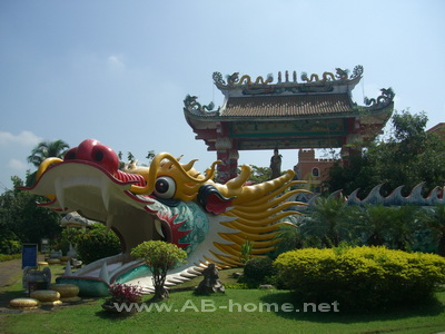 Dragon Temple in Chiangmai