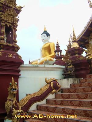 The big Buddha image of the Morntheran Temple