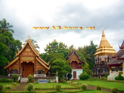 Wat Chiang Man Chiang Mai  Travel Reports & Pictures