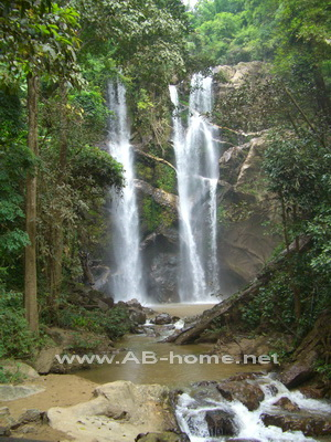 Mork Fa Waterfall, Doi Suthep