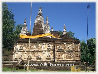 Jet Yod Temple Chiang Mai