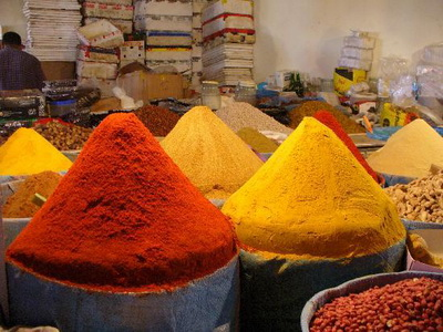 Spices on the Souk in Agadir
