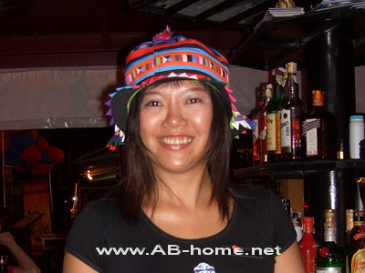 Bar Girl in Thailand