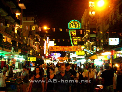 Khao San Nightlife