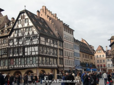 Strasbourg half timber house